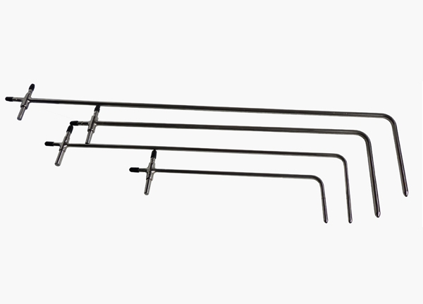 L - shaped AFP series pitot tube