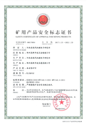 5A Safety Light Security Certificate